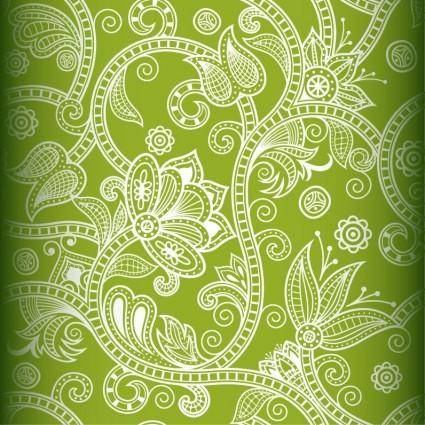 free vector Free Seamless Floral Vector Background