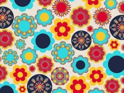 free vector Floral Design Elements Vector Background