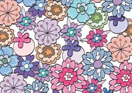 free vector Floral Pattern Vector Graphic