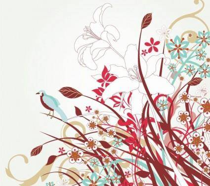 free vector Free Floral Vector Art