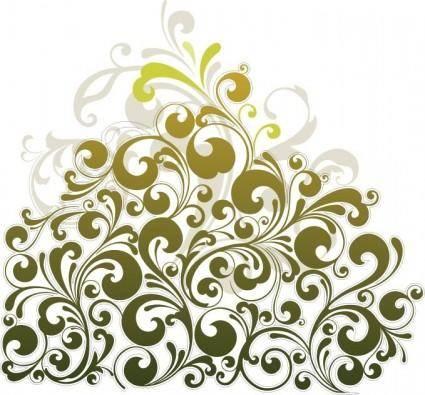 free vector Floral Design Element Vector Art