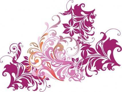 free vector Floral Element Vector Art