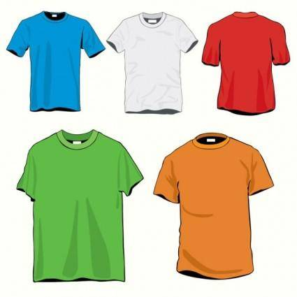 free vector Clothes template 20 vector