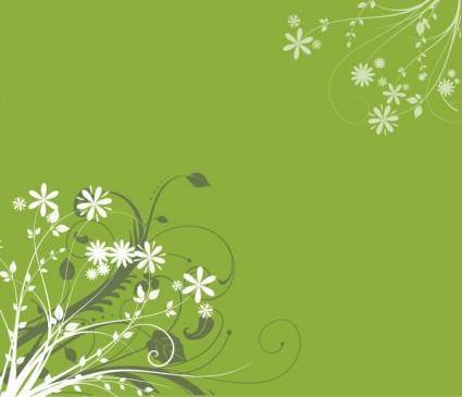 Free Vector Floral Background