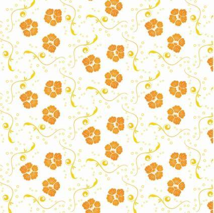 free vector Free Vector Ornamental Floral Pattern