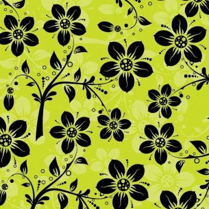 free vector Floral Pattern Vector