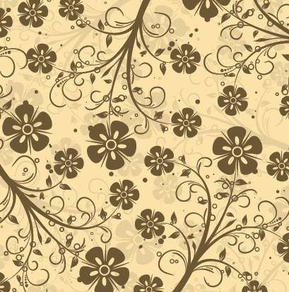 free vector Decorative Floral Pattern Vector