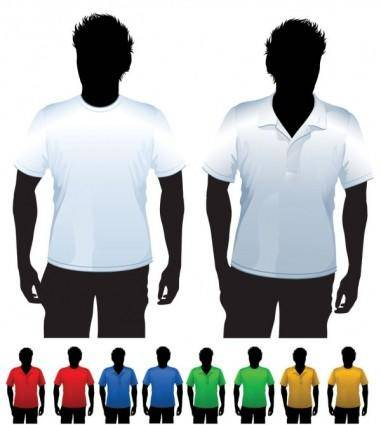 Clothes template 24 vector