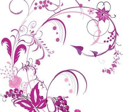 Free Floral Vector Graphic