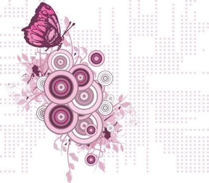 free vector Free Floral Design Elements Vector