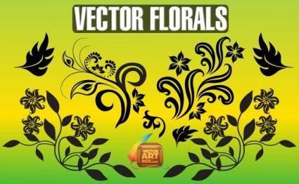 free vector Vector Florals