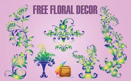 Free Floral Decor