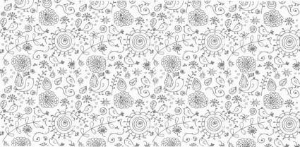 Nice Floral Background Vector