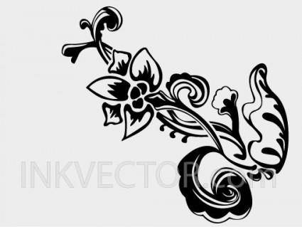 free vector Hand Drawn Floral Vector