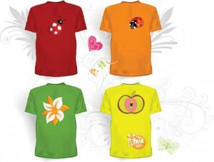 free vector Clothes templates 05 vector