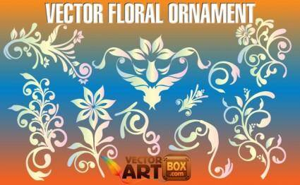 free vector Vector Floral Ornament