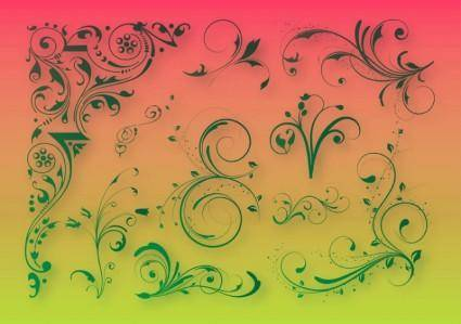 free vector Floral Decoration Graphics