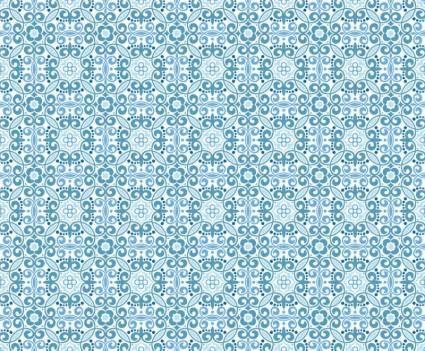 Oriental Floral Pattern