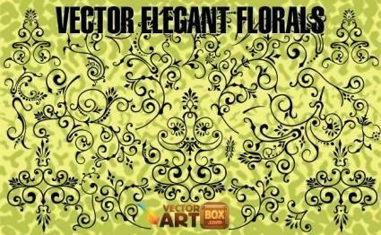 Vector Elegant Florals