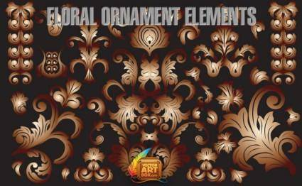 free vector Floral Ornament Elements