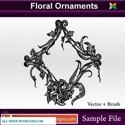 Vector Floral Ornaments 26633