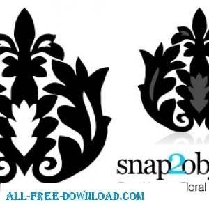 free vector Floral Backgrounds