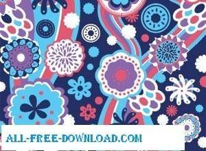 free vector Vector Pattern  Floral Theme