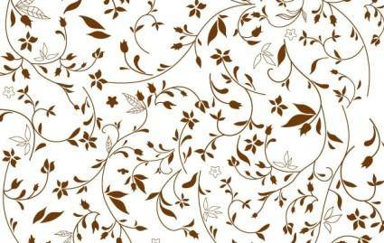 free vector Free Floral Pattern