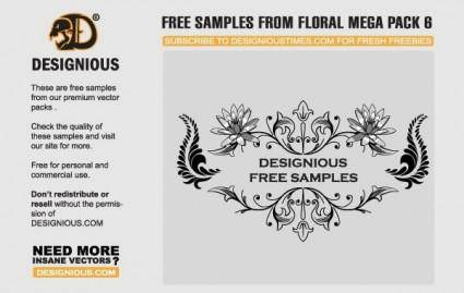 Free floral vector samples 26682