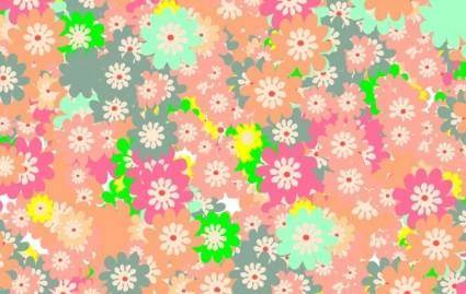 free vector Floral colorful background