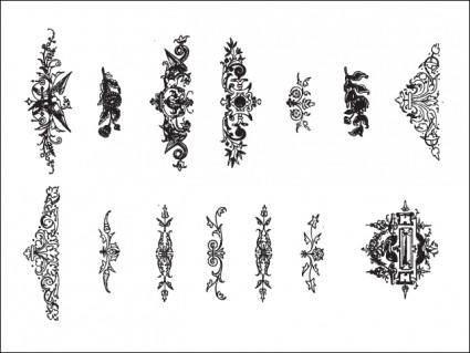 14 Floral Ornaments