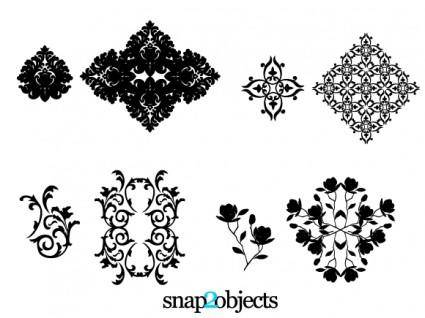 free vector Floral Ornaments