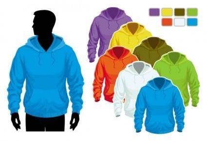 free vector Sweater template 02 vector