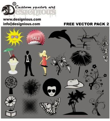 free vector Silhouette vector
