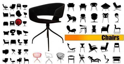 free vector Seat silhouette vector