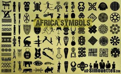 free vector African Symbols
