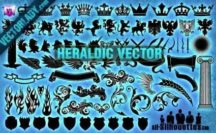 free vector Heraldic Vector Clipart