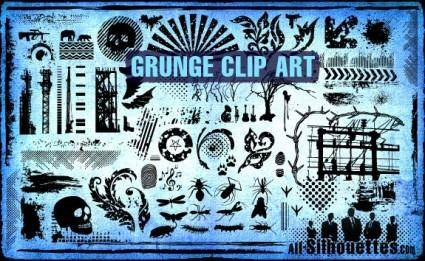 free vector Vector Grunge Clipart
