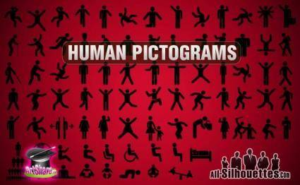 Vector Human Pictogram