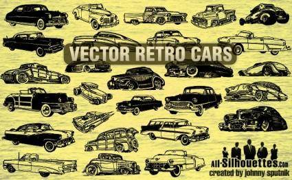 Vector Retro Cars