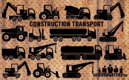 free vector Construction transport