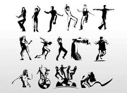 Aerobic Art Dancer