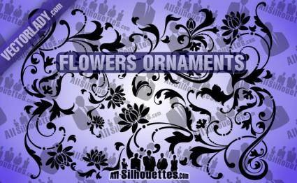 Flowers Ornaments 27070
