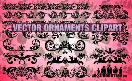 free vector Vector Ornaments Clipart