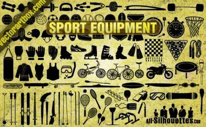 free vector Vector Sport Equipment