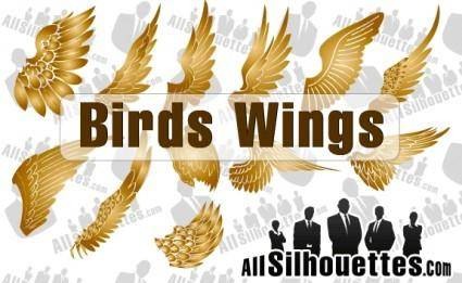 free vector Vector Birds Wings