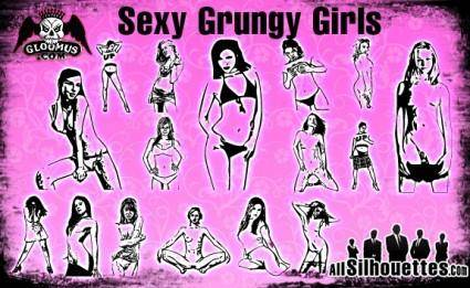 Sexy Grungy Girls