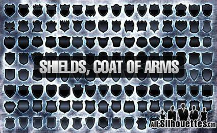120+ Vector Shields, Coat of Arm