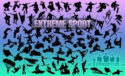 free vector Extreme Sport