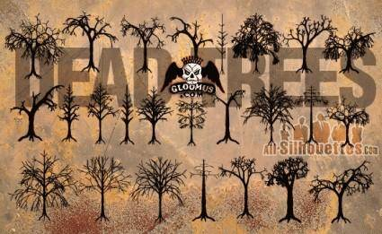 free vector Dead Trees
